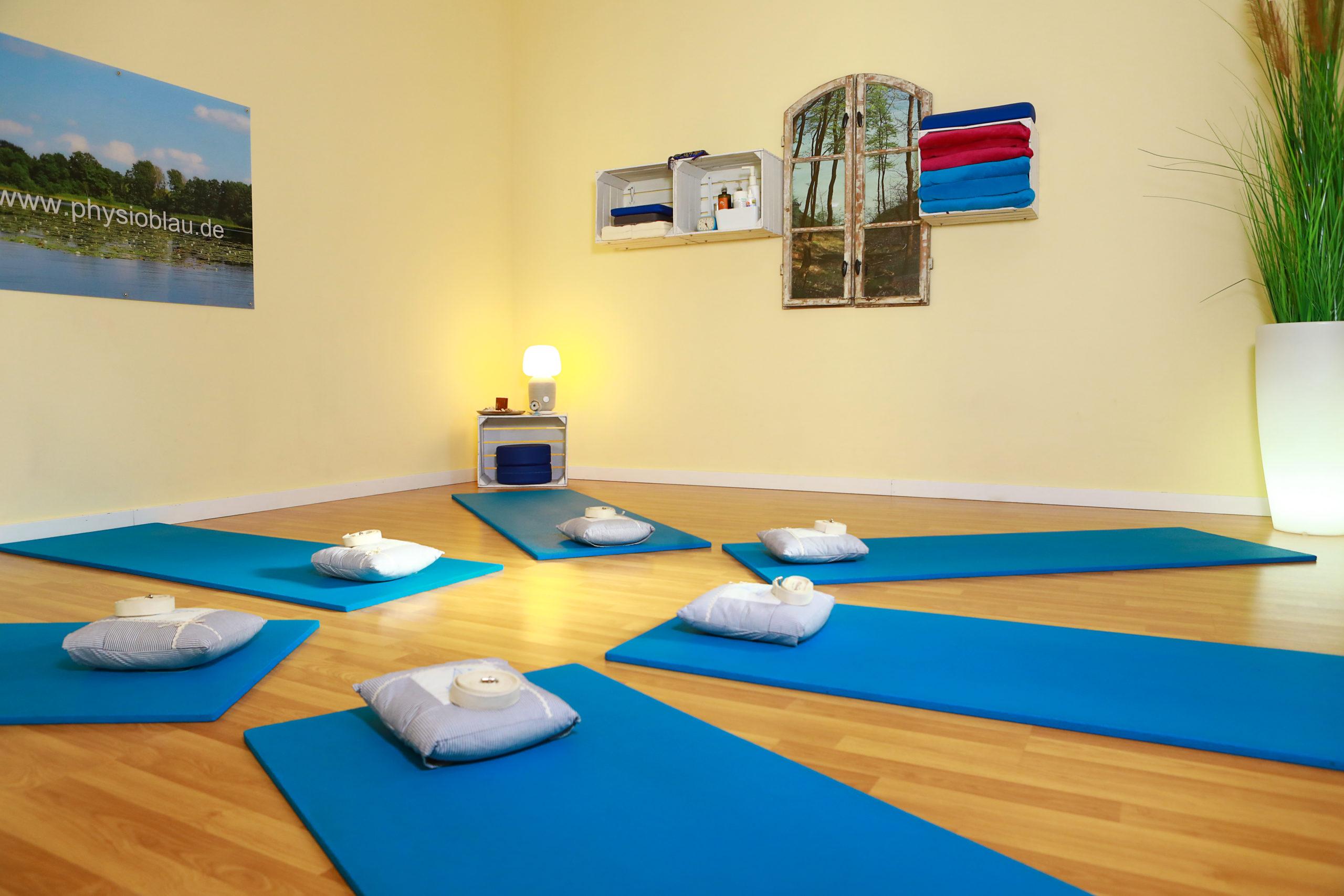 Yogakurse bei Physio Blau in Potsdam